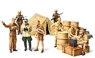 1/48 WWIIドイツ アフリカ軍団歩兵セット 「ミリタリーミニチュア」