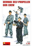 1/35 ドイツ自走砲兵 弾薬補給シーン フィギュアセット 5体 「WWII ミリタリーミニチュアシリーズ」 [35008]