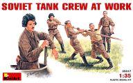 1/35 ソビエト戦車兵 作業シーン  フィギュアセット 5体 「WWII ミリタリーミニチュアシリーズ」 [35017]