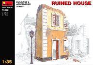 模型 1/35 廃墟の家 「ジオラマ&アクセサリーシリーズ」 [35526]