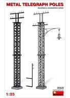 模型 1/35 鉄製の電柱 「ジオラマ&アクセサリーシリーズ」 [35529]