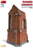 模型 1/35 廃墟の教会 「ジオラマ&アクセサリーシリーズ」 [35533]