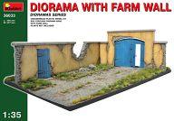 模型 1/35 農場の壁 「ジオラマベース33」 [36033]