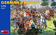 1/72ドイツ騎兵 (15世紀) フィギュアセット 「中世の騎士シリーズ」 [72011]