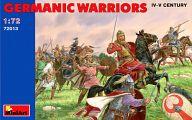 1/72ゲルマン戦士 (4-5世紀) フィギュアセット 「中世の騎士シリーズ」 [72013]