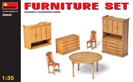 模型 1/35 小物セット1(家具) 「ジオラマ&アクセサリーシリーズ」 [35548]