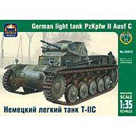 1/35 2号C型 ドイツ軽戦車 [AK35018]