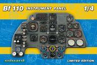 1/4 メッサーシュミット Bf-110 計器盤 「リミテッドエディションシリーズ」 [14001]