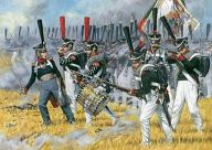 1/72 ロシア歩兵 1812~1815 「歴史フィギュアシリーズ」 [ZV8020]
