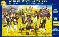 1/72 ロシア砲兵 1812~1815 「歴史フィギュアシリーズ」 [ZV8022]