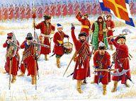 1/72 ロシア歩兵 16~18世紀 「歴史フィギュアシリーズ」 [ZV8040]