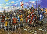 1/72 イギリス騎兵 100年戦争 「歴史フィギュアシリーズ」 [ZV8044]