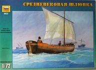 1/72 中世の救命/搬送用ボート [ZV9033]