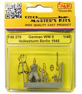 1/48 WWII ドイツ国民突撃隊ベルリン 1945年 レジンフィギュア [MPMCMKF48270]