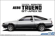 1/24 トヨタ AE86 スプリンタートレノ GT-APEX `85 「ザ・モデルカーシリーズ No.5」