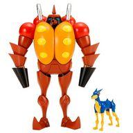 火炎放射ロボット (フレンダーミニフィギュア付き) 「新造人間キャシャーン」 昭和模型少年クラブ [KP418]