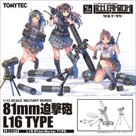 LittleArmory LD007 81mm迫撃砲L16タイプ プラモデル