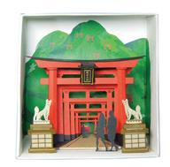 模型 ペーパーナノ PN-111 稲荷神社
