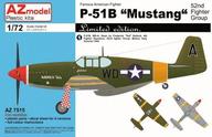 "1/72 P-51B マスタング ""第52戦闘飛行隊"" [AZM7515]"