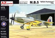 1/72 マーチン・ベーカー M.B.5 スペシャールマーキング スケールモデルワールド限定版 [AZM7553SP]