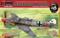 1/72 Bf109G-6(初期型) フリードリッヒ・エベール 「クラブラインシリーズ」 [KPMCLK002]