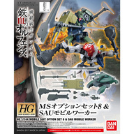 HG 機動戦士ガンダム 鉄血のオルフェンズ MSオプションセット8 & SAUモビルワーカー(仮)