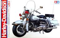 1/6 ハーレーダビッドソン FLH 1200 ポリスタイプ 「オートバイシリーズ No.16」 ディスプレイモデル [16016]