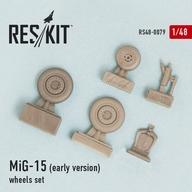 1/48 MiG-15 初期型 ホイールセット ディティールアップパーツ [RSK48-0079]