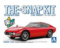 1/32 トヨタ 2000GT(ソーラーレッド) 「ザ・スナップキットシリーズ No.05-B」 [56288]