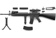 リトルアーモリー LA056 M16A4タイプ