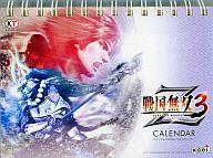 戦国無双3 Z オリジナル万年日めくり卓上カレンダー プレミアムBOX特典