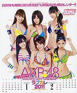 AKB48 2011年度カレンダー 週刊ヤングジャンプ2011年新年No.4・5合併特大号特別付録