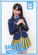 宮脇咲良(HKT48) ポケットスクールカレンダー(2013/10-2014/3) 「CD メロンジュース」 初回プレス分限定特典