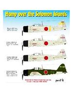 """1/72 三菱A6M3 零式艦上戦闘機三二型 """"ソロモン諸島上空パート4"""" デカール [HMD72080]"""