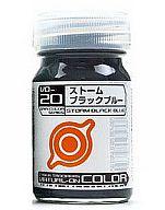 塗料 VO-20 ストームブラックブルー 15ml 「電脳戦機バーチャロン カラーシリーズ」 [33520]