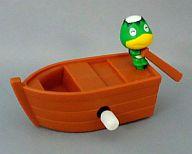 [箱・カード欠品] カッペイ ゼンマイ式カッペイボート 「どうぶつの森+ 森をつくろう!」