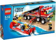 LEGO オフロード消防自動車と消防艇 「レゴ シティ」 7213