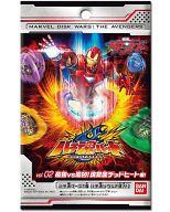 【 パック 】ディスク・ウォーズ:アベンジャーズ バチ魂バットブースターパック Vol.02 最強VS最凶!魂覚醒デッドヒート編!