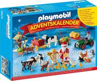 アドベントカレンダー 農家のクリスマス 「playmobil プレイモービル」 6624