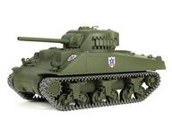 [特典付] ラジコン 1/24 サンダース大学付属高校 M4シャーマン 75mm砲搭載型 「ガールズ&パンツァー 劇場版」 バトルタンクシリーズ 2.4GHz仕様 [WT-372014C]