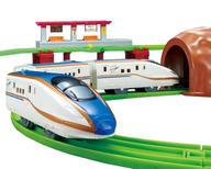 プラレール にぎやかアナウンス! サウンドE7系 新幹線 かがやきレールセット