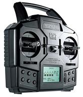 ラジコン用 ファインスペック2.4G 4チャンネルプロポ 送信機・受信機セット 「RCシステムシリーズ No.68」 [45068]