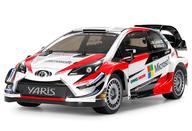 ラジコン 1/10 トヨタ ガズー レーシング WRT/ヤリス WRC TT-02シャーシ 「電動RCカーシリーズ No.659」 2.4GHz仕様 組み立てキット [58659]