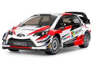 ラジコン 1/10 トヨタ ガズー レーシング WRT/ヤリス WRC(TT-02シャーシ) 「XBエキスパートビルトシリーズ No.203」 2.4GHz仕様 [57903]