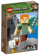 LEGO ビッグフィグ アレックスとニワトリ 「レゴ マインクラフト」 21149