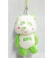 え~パンダ(緑) ぬいぐるみ携帯ストラップ 「AAA 4th Anniversary LIVE」