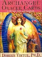 大天使オラクルカード 日本語版説明書付