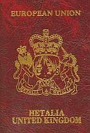 イギリス パスポート風メモ帳 「ヘタリア」