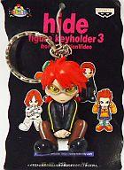 hide(サングラス) フィギュアキーホルダー3 「X JAPAN」