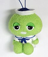ガチャピン(正面/白服) 水兵さんマスコット 「ガチャピン・ムック」
